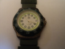 Tag Heuer Watch Green White Swiss Made Professional WR200M