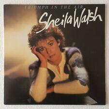 [CLIFF RICHARD] SHEILA WALSH ~ TRIUMPH IN THE AIR ~ 1984 UK 10-TRACK VINYL LP