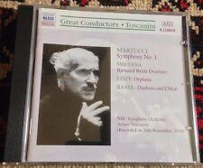NAXOS HISTORICAL 8110818 great conductors TOSCANINI 1999 GERMAN CD