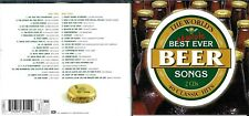 World's Absolute Best Ever Beer Songs 2cd (40 tracks)- Rose tattoo, ZZ Top,Knack