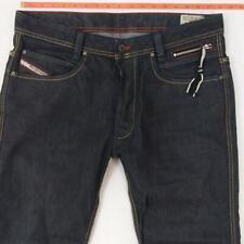 Mens Diesel PADDOM 0088Z Slightly Tapered Blue Jeans W34 L30