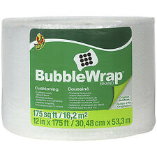 Bubble Wrap Duck Brand Original Cushioning Wrapping Nylon Air Retention Barrier