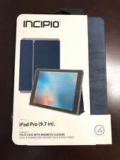 """Incipio Faraday Folio Case Magnetic closure for Apple iPad Pro 9.7"""" - Blue"""
