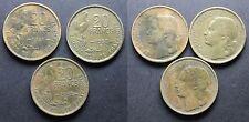 Lot de 3 x 20 francs GUIRAUD