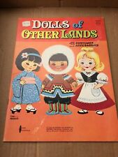 Paper Doll Book - Dolls of Other Lands - Whitman Publishing 1963 Uncut