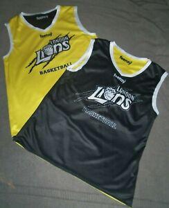 London Lions Reversible Basketball Jersey - New - Small / Large