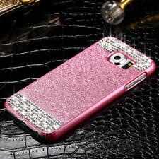 Bling Glitter Diamond Shockproof Hard Slim Case Cover For Samsung Galaxy S7 S6
