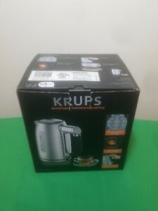 KRUPS BW710D51 Cool-touch Stainless Steel Double Wall Electric Kettle 6 Settings