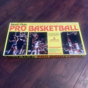 1981 STRAT-O-MATIC PRO BASKETBALL BOARD GAME USED