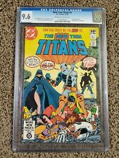 New Teen Titans 2 (CGC) 9.6 1ST DEATHSTROKE!! SNYDERVERSE!!