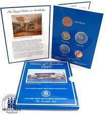Suecia 16,50 coronas 1998 stgl. real Decreto palacio en Estocolmo en kms Folder