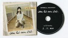 Isabell Schmidt - cd-PROMO album - ALLES HAT SEINE ZEIT © 2013 - German-12-Track