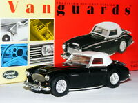 Vanguards VA05103 Austin-Healey 3000 MkII Black LTD ED 1/43