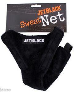 Jet Black Bike Sweat Net JB30 Bike Cycling Trainer Net Black Universal Fit