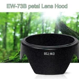 EW73b Camera Mount Hood 18-135 Lens Dedicated for Canon Z5H5 L6F8 F9H2 HOT T3A5
