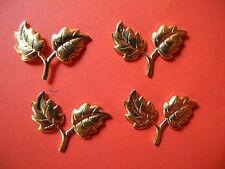 Zierteile Metallbeschläge Blättchen T 16
