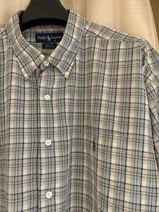 Genuine Men's Ralph Lauren Shirt Size XXXL Excellent Condition