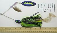 Muskie musky pike 1 1/2oz spinnerbait fishing lure ultra minnow spinner 4644