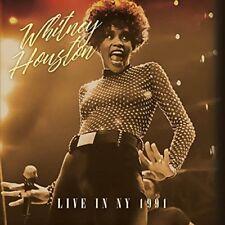 Whitney Houston - Live in NY 1991 (2017)  CD  NEW/SEALED  SPEEDYPOST