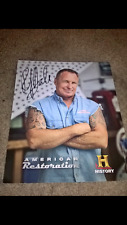 RICK DALE AMERICAN RESTORATION  AUTHENTIC HAND SIGNED 8X10 PROMO PHOTO