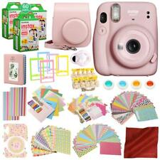 FUJIFILM INSTAX Mini 11 Instant Film Camera (Sky Blue) with 168 Piece Accessory