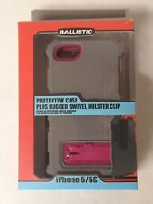 Ballistic Apple iPhone SE (2016) iPhone 5s/5 gray Hot Pink Rugged Tough Case