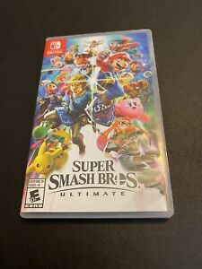 Nintendo Switch Super Smash Bros Ultimate Used Lightly Played Game Case Included