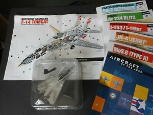 DelPrado Aircraft of the Aces  F14 TOMCAT 1:160 scale model #25 with info