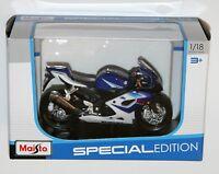 Maisto - SUZUKI GSX-R1000 (Blue) - Motorbike Model Scale 1:18