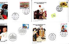 Vatican  Jean Paul II  FDC&/or max card  div lot II   286