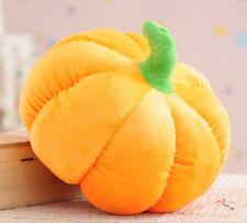 "New Plush pumpkin cushion pillow toy Halloween Birthday Gift  16""L Medium Size"
