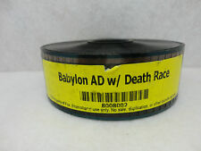 Babylon A.D. w/ Death Race 35mm Theater Movie Trailer, Teaser, Film, Cells