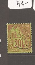 French Colonies Sc 52 Vfu (5ayc)