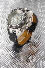 orologio crono-look Jay Baxter cinturino vera pelle-garanzia-nuovo- A0753 C