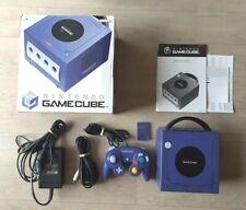 Console Nintendo Gamecube + Manette + Câbles en Boîte - PAL UKV - Fonctionnelle