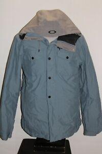OAKLEY Mens Large L Biozone FMDry 10Kmm hooded Snowboard/snow Jacket