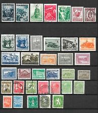 Bulgaria: Collection of 36 Mint & Used Stamps (004)