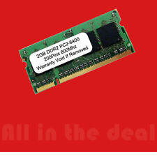 2GB DDR2 800 MHz PC2-6400 200 pin Sodimm Laptop Memory RAM DELL HP