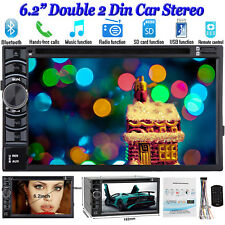 For Ford Focus Mondeo S-max Galaxy 2DIN Car Stereo Radio DVD Player Bluetooth UK