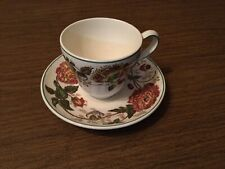 "New ListingWedgwood of Etruria & Barlaston England Rust ""Surrey"" Cup And Saucer"
