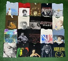 Vintage Style Music Rap Rock Band Shirt Lot Of 20 Mix Szs Reseller