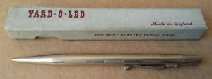 Vintage Yard-O-Led Propelling Pencil with Box - Made in England Patent No.422767