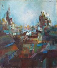 MARTIN-ROLLAND (1926-2015) HsT Années 50 Jeune Peinture Nouvelle Ecole de Paris