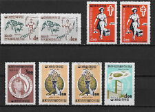 Korea Scott # 412-416, sets,VF mint hinged nice color scv $17+,see pic!