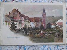 Feldkirch Vorarlberg Gemälde Kunst Österreich Postkarte Ansichtskarte 3650