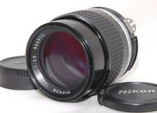 [Excellent++] Nikon Ai-s Nikkor 105mm f/2.5 Telephoto Lens Ais from JAPAN