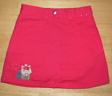 GYMBOREE NEW YORK GIRL RED PUPPY SKIRT GIRLS 5 FALL WINTER COTTON