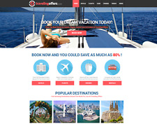 Established TRAVEL Website Script - Hotel, Flight, Rental Car! Make $1-4 p/Lead