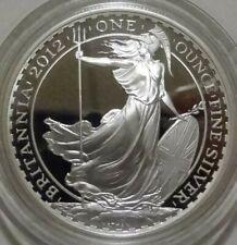 2012 UK Commemorative Britannia 2 Pounds 1oz Silver Proof Coin in OGP with COA