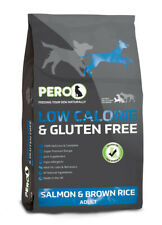 Pero Low Calorie Salmon & Brown Rice Dry Dog Food - 12kg